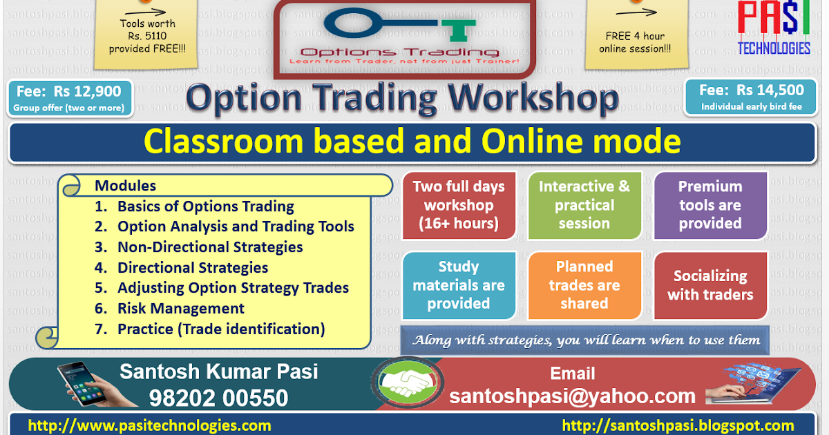 Options trading institute in mumbai