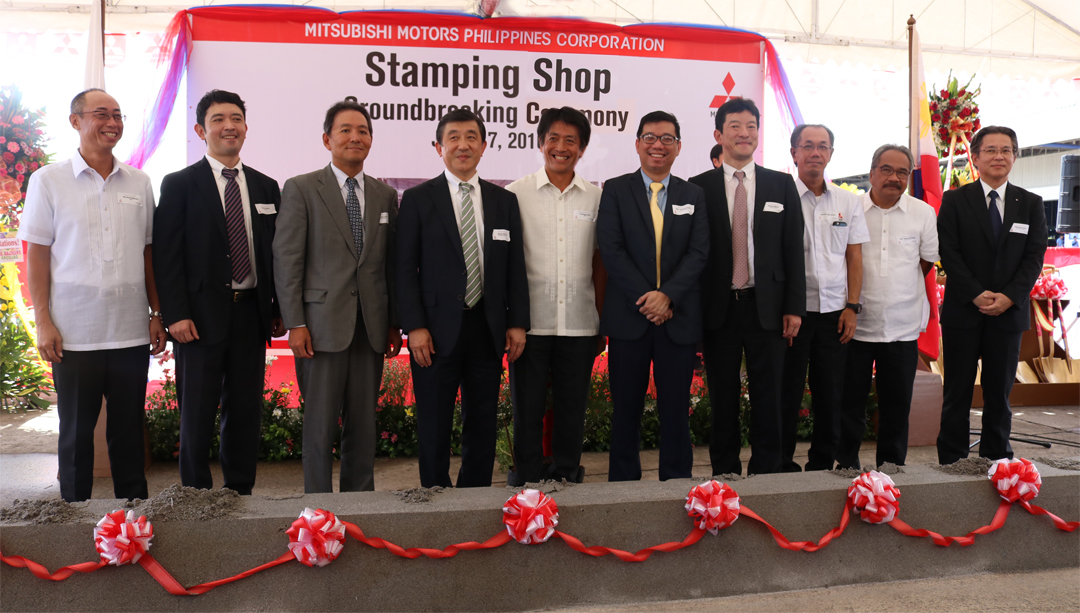 Mitsubishi Motors Philippines Breaks Ground for Stamping Shop Facility