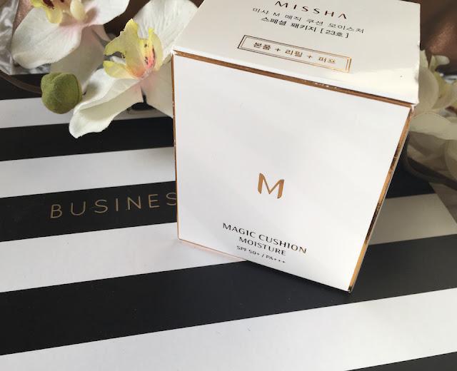 (K-Beauty) Le Magic Cushion Moisture de Missha : Un petit bijoux pour un teint parfait !