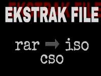 Cara Ekstrak File mudah lengkap