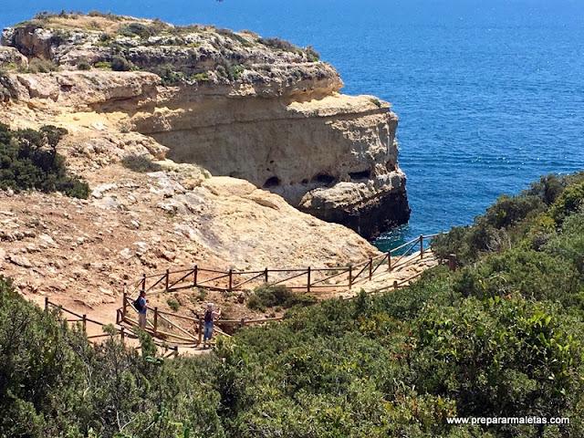 ruta de senderismo por el Algarve