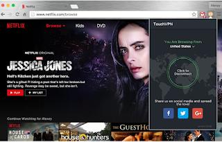 تحميل اضافة فتح المواقع المحجوبة مجانا لجوجل كروم Free Proxy to Unblock any sites | Touch VPN