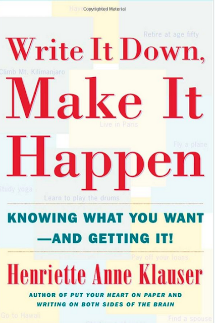 Write It Down, Make It Happen Knowing What You Want And Getting It by Henriette Anne Klauser