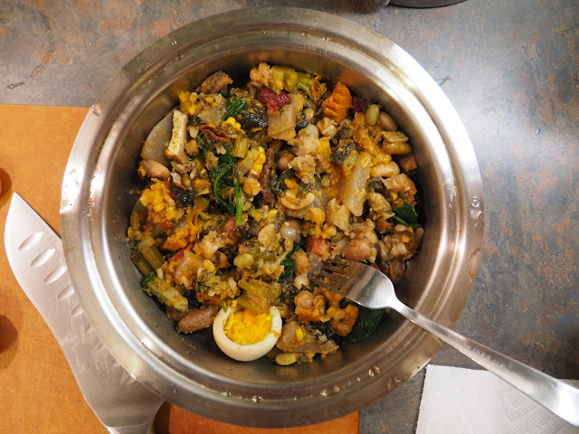 爸爸做的副食品,主要參考黃琮寧醫師的懶人電鍋法副食品。