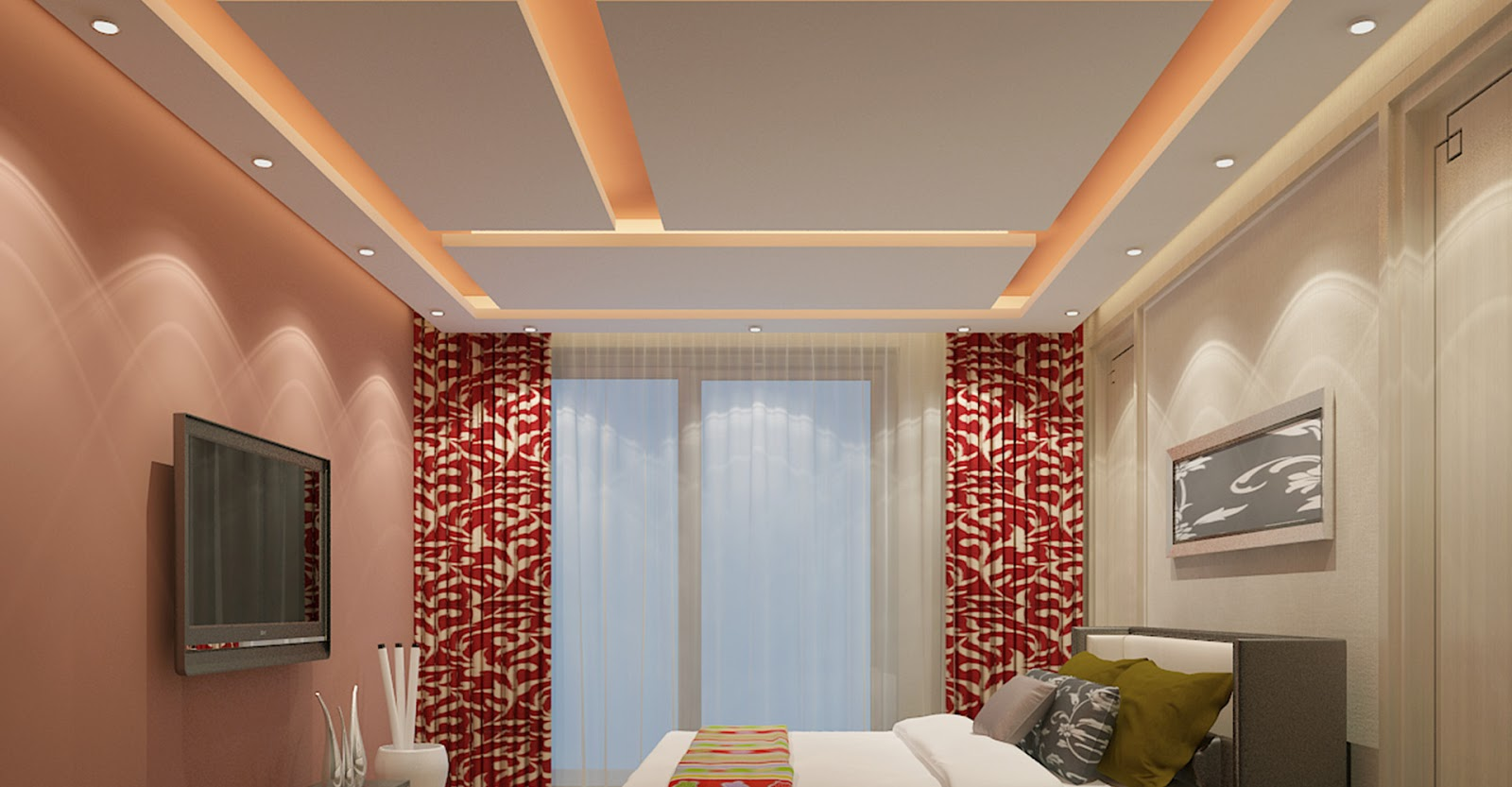 41 Model Plafon Gypsum Rumah Minimalis Yang Elegan Terbaru