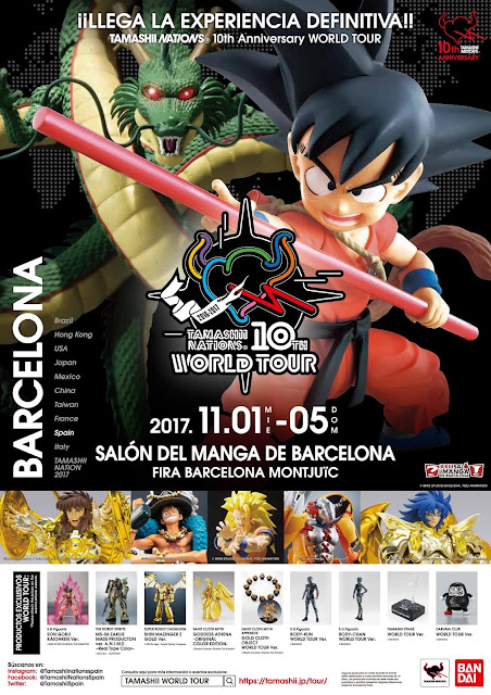 Tamashii World Tour Barcelona