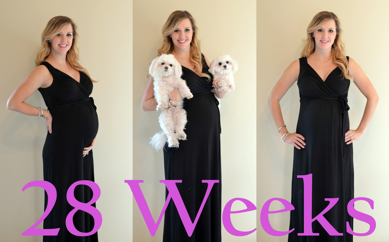 Pregnant 8 Bloated And Weeks