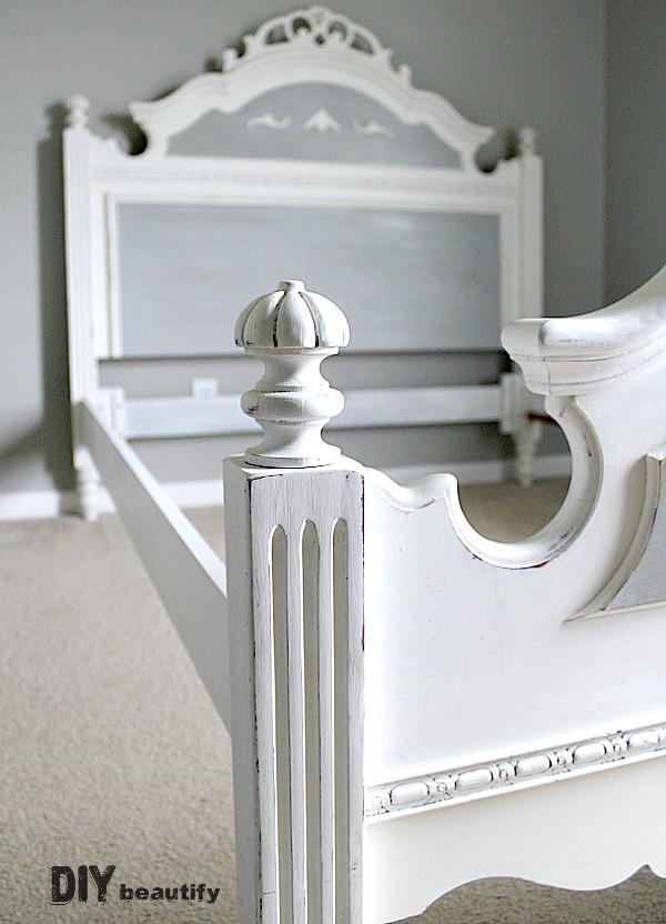Painting An Oak Bed One Room Challenge Spring 2015 Week