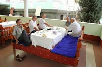 Tajikistan, Duchanbe, Roxhat chaikhana, topchan, Salimsho Halimsho, © L. Gigout, 2012