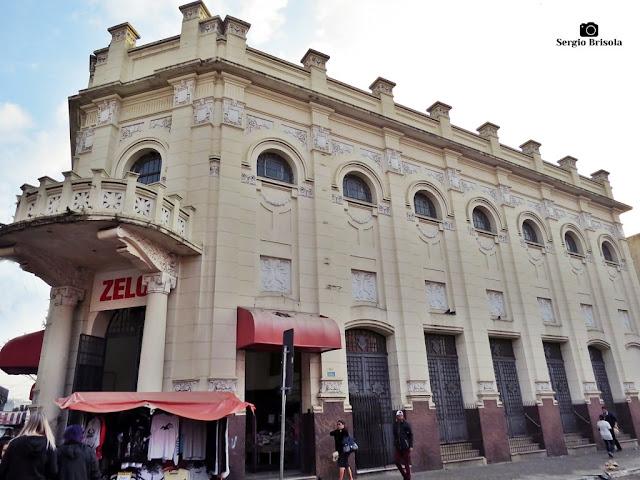 Vista da fachada do Cine Theatro Oberdan - Zelo (atual) - Brás - São Paulo