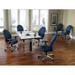 Metal Base Conference Table by OFM