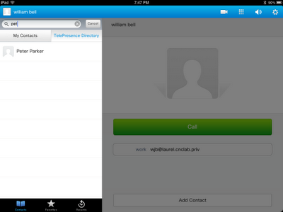 Using the TelePresence Directory and Phone Book entries from VCS