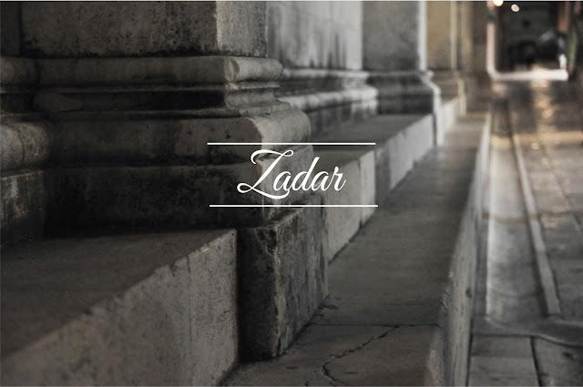 Zadar nocą - wyprawa Bałkany #4