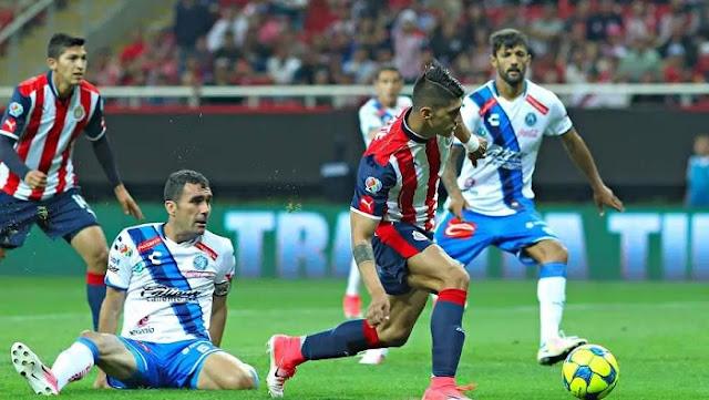 Ver partido Chivas vs Puebla en vivo ahora 19 agosto