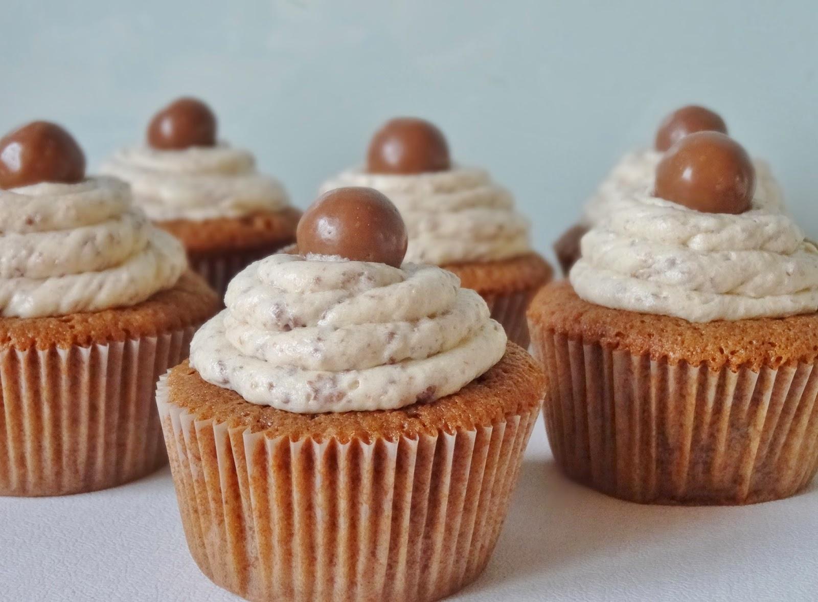 Geliefde Joyce bakt: Malteser cupcakes #UT43