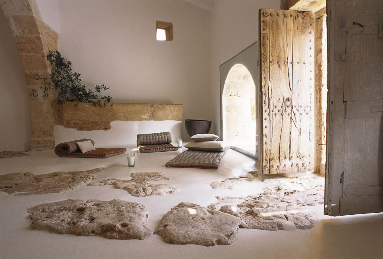 Finca sa pedra en mallorca alter design for Casa interior design