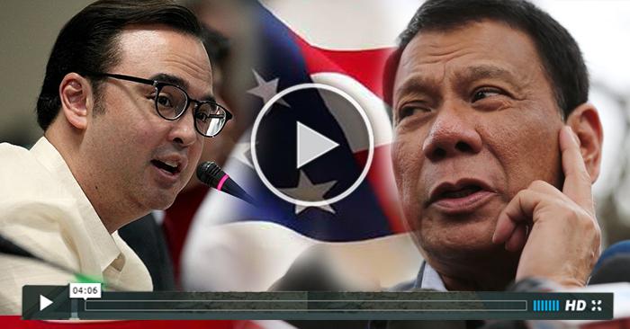 MUST WATCH: Senator Cayetano Pinagtanggol si Duterte sa International Media