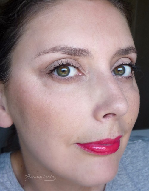 Wearing YSL Vinyl Cream in 410 Fuchsia Live fotd motd