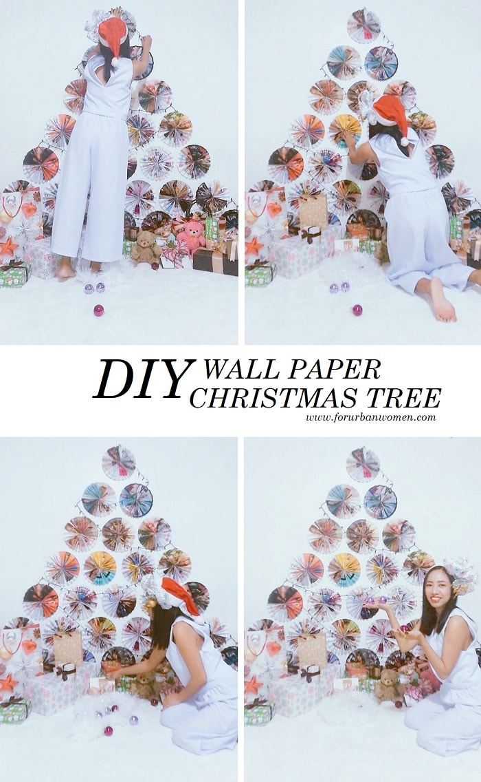How to Make a Wall Paper Christmas Tree