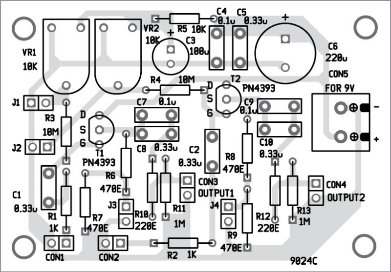 adjust the layout of components on pcb