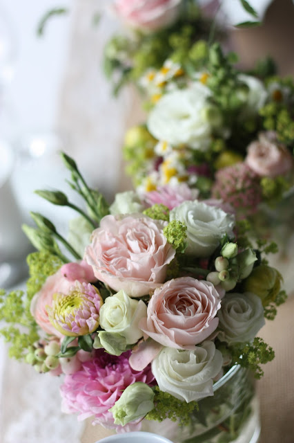 Blütenzauber, Hochzeitsmotto aus M wird M, Pastell und Vintage im Riessersee Hotel Garmisch-Partenkirchen, Bayern