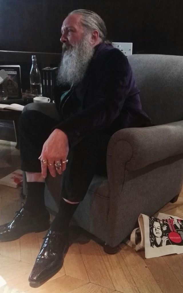 Alan Moore en 2016