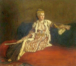 Portrait of Lady Montagu in Turkish Dress by Jean-Étienne Liotard, 1756