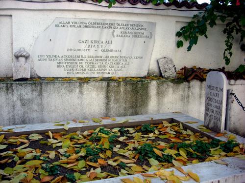 Ajans Bg - Foto: Kırcı Ali'nin mezarı..