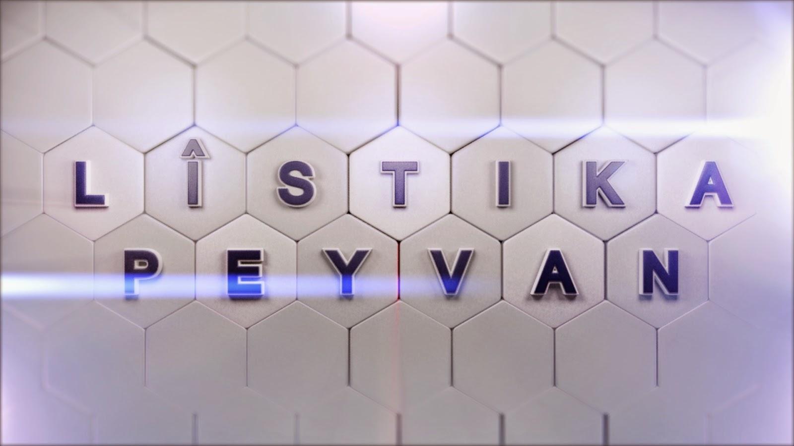 Listika Peyvan Rexnegire Televizyonen Kurdi Kurt Televizyonlari Elestirmeni