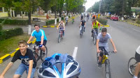 Mars biciclist la Buhusi in Saptamana Mobilitatii Europene