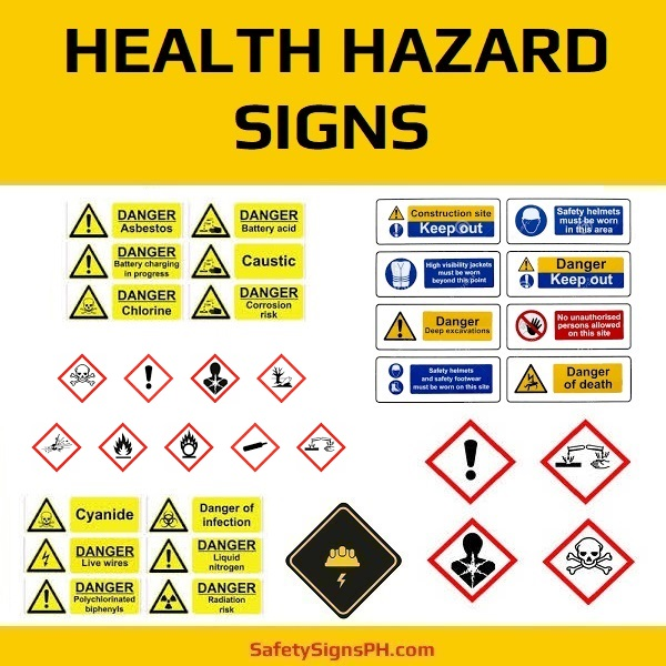 Health Hazard Signs Philippines