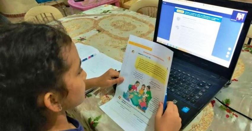MINEDU mejorará estrategia pedagógica a distancia mediante «Alfabetización Digital» a través de PerúEduca