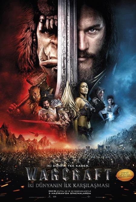 Warcraft: İki Dünyanın İlk Karşılaşması (2016) Mkv Film indir