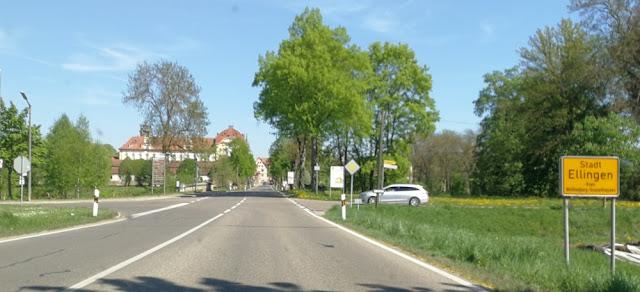 Ellingen - Anfahrt
