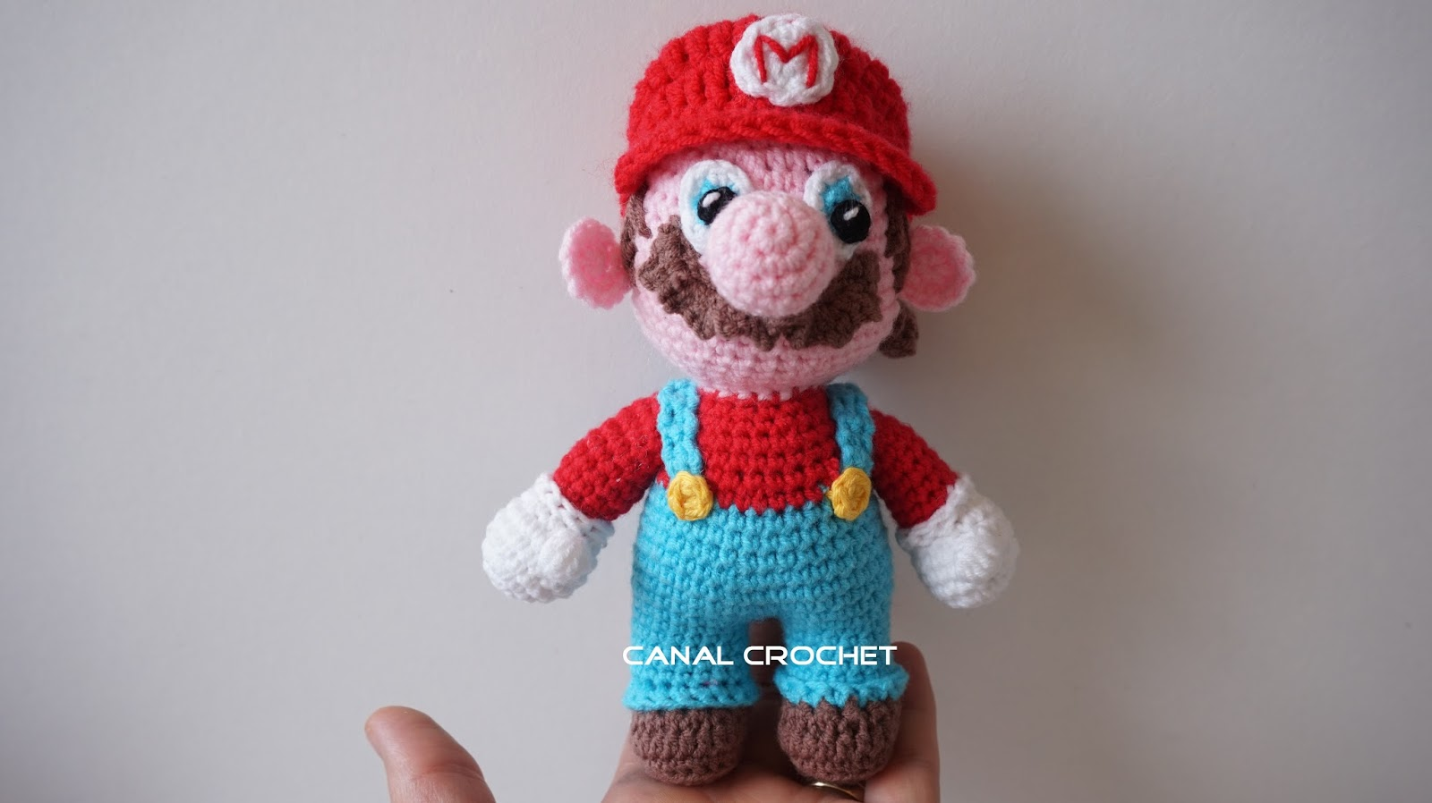 Amigurumi Tutorial Gratis : Canal crochet mario bross amigurumi tutorial