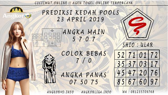 Prediksi Angka Jitu KEDAH POOLS 23 APRIL 2019