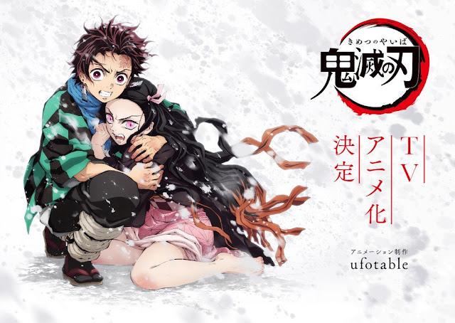 Hasil gambar untuk Sinopsis dari anime Kimetsu no Yaiba