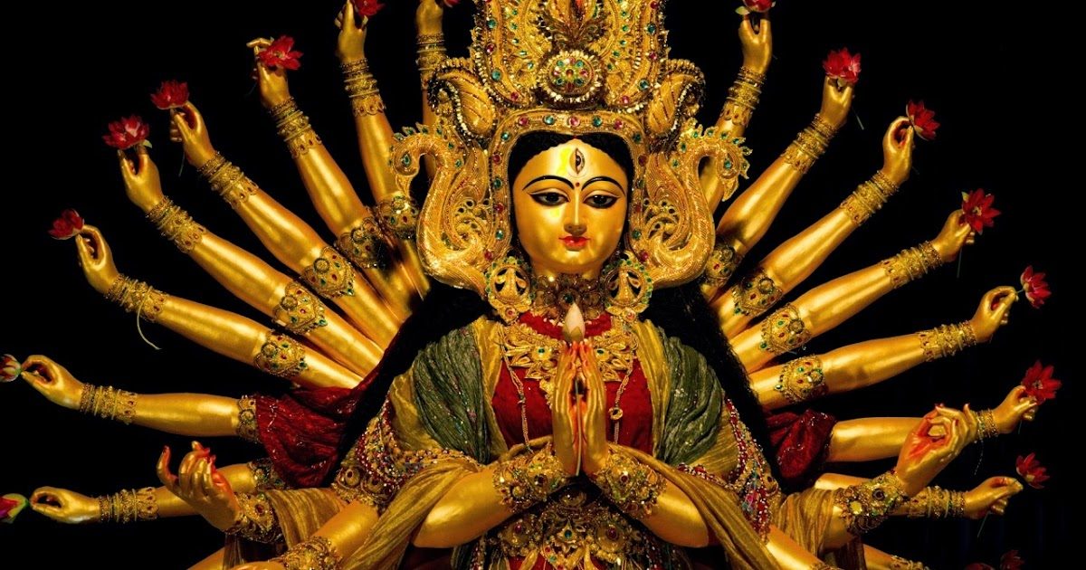 Durga Puja Hd Wallpaper: Durga Puja Wishes Lord Maa Durga Hd Free