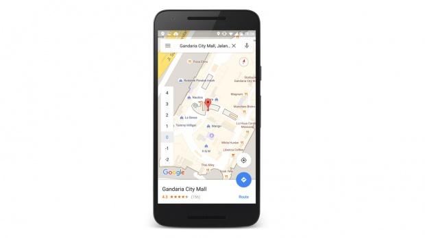 Google Maps untuk Android Ubah Panah Menjadi Sinar