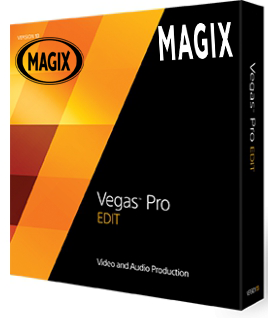 MAGIX Vegas Pro 13.0 Edit poster box cover