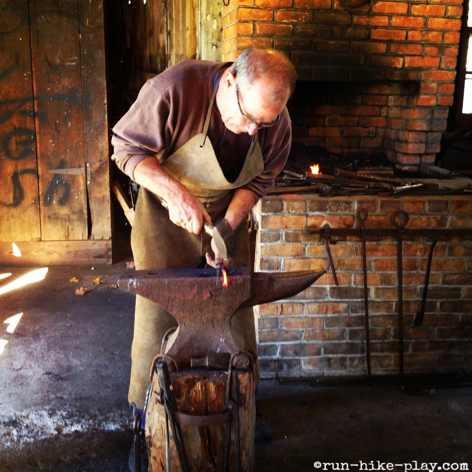 Muscoot Farm blacksmith