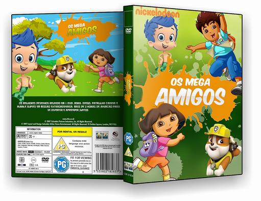DVD-R OS MEGA AMIGOS MONTAGEM – ISO