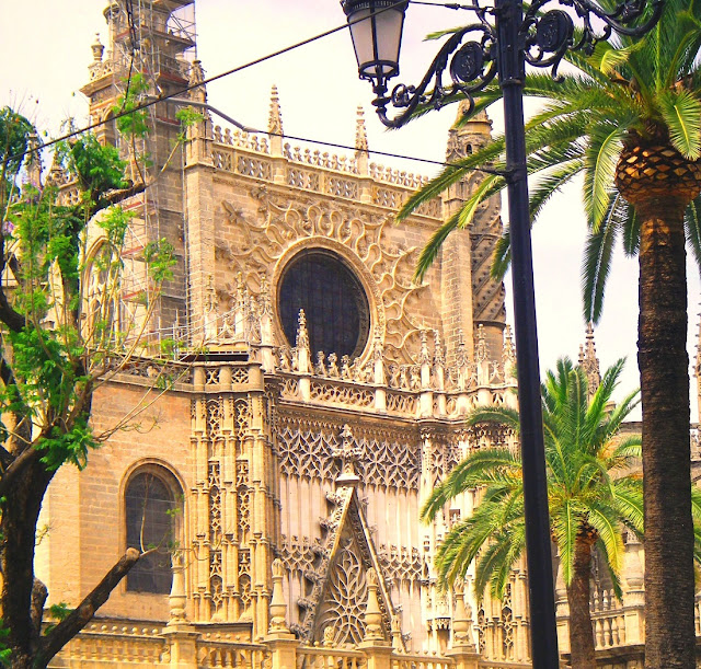 Sevilla katedralen, Spanien