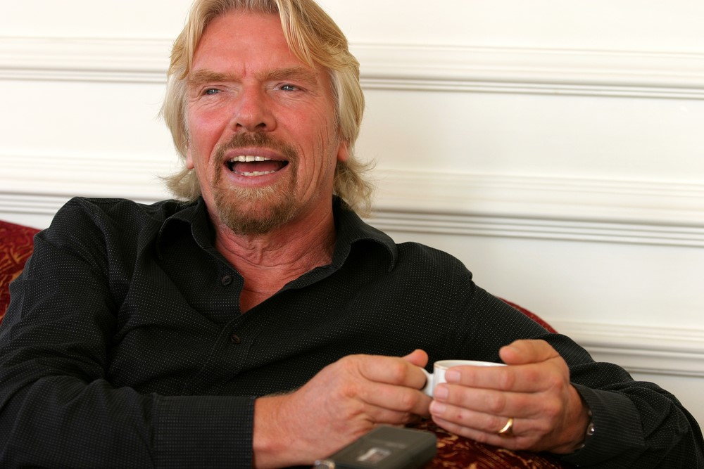 And richard branson denni parkinson tits breasts
