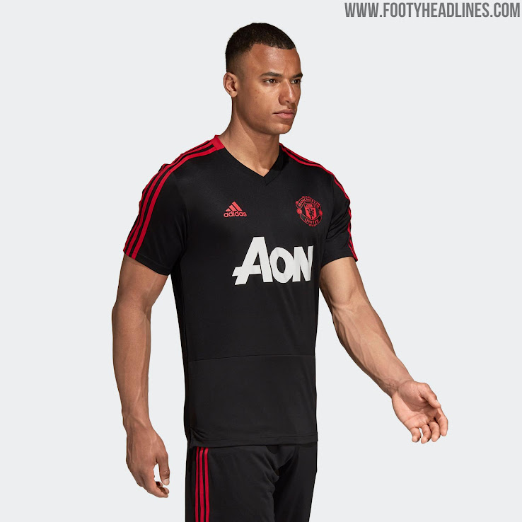 Kits Released 18 Training United Black Pink 19 Manchester Adidas w6qTU8U0