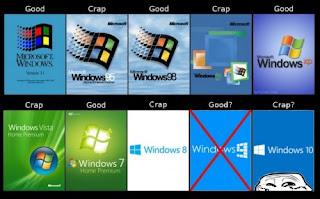 windows 10 funny oprendszer