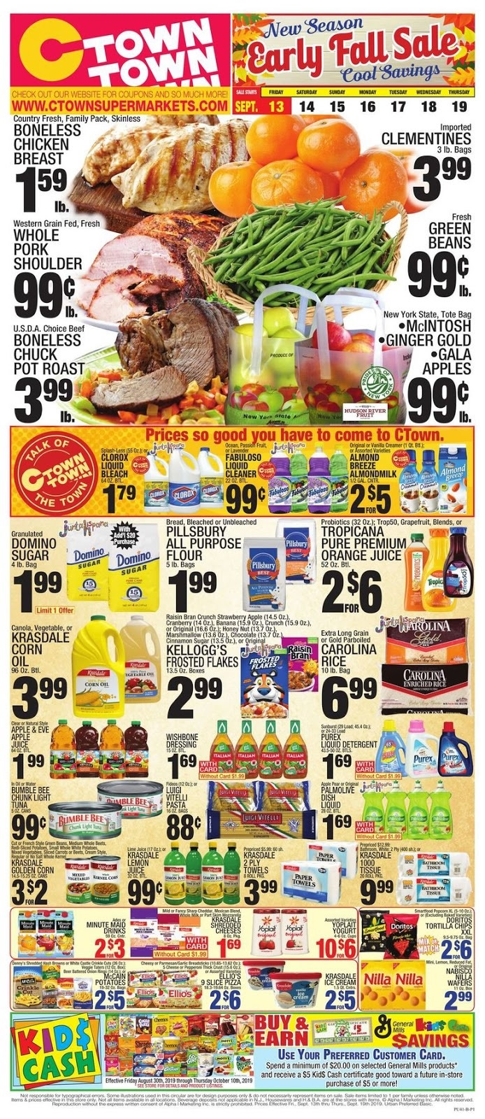 ⭐ CTown Weekly Ad 9/13/19