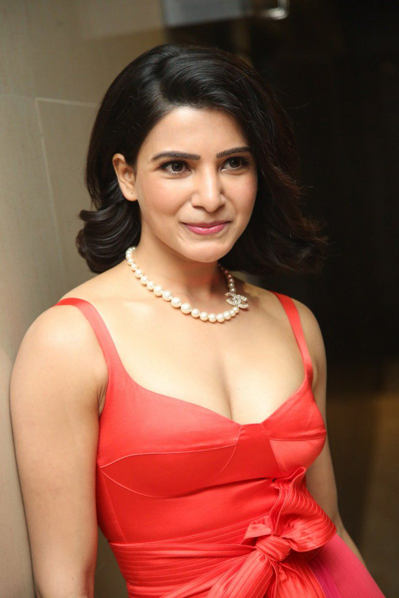 Actress samantha at Oh Baby Pre Release Event : Stunning Hot Photos 2019