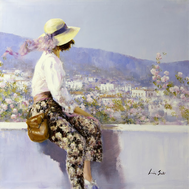 Lucia Sarto - 1950 Born Impressionist Painter
