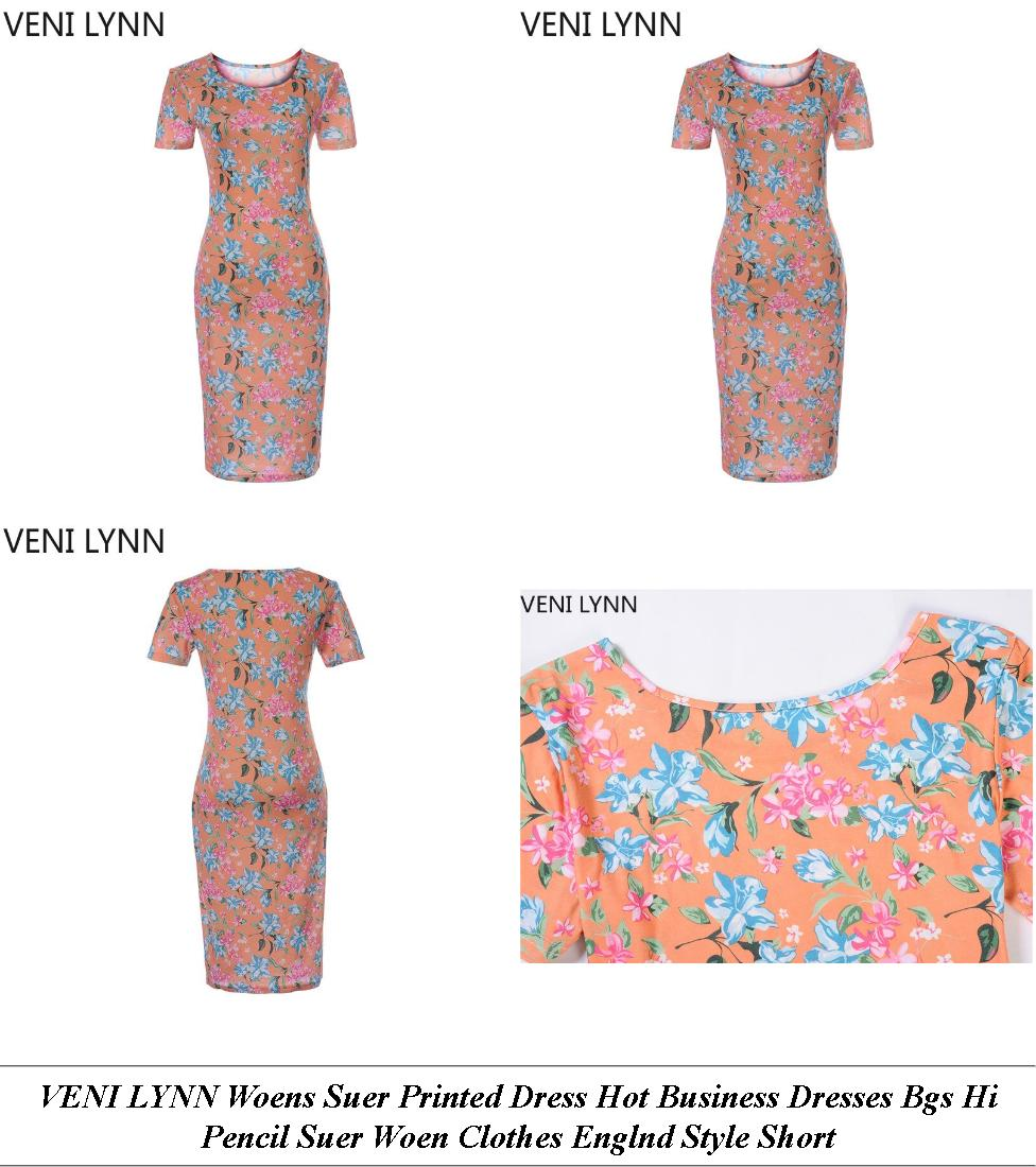 Quinceanera Dresses - Ladies Clothes Sale - Floral Dress - Cheap Name Brand Clothes